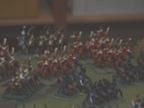 Nansouty angriber på venstre flanke